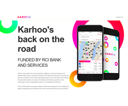 Comparison App Karhoo Bought Out Of Administration